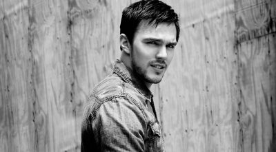 Nicholas Hoult black and white High Resolution