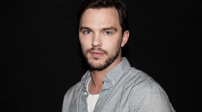 Nicholas Hoult black background