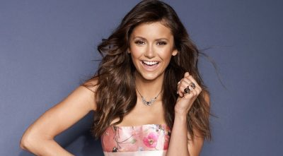 Nina Dobrev necklace HD photo