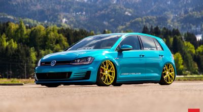 Volkswagen Golf GTI MK7 2016 background pictures