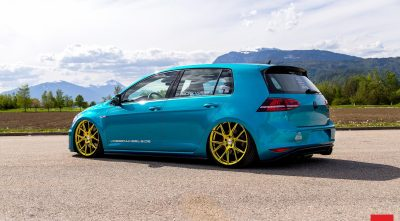 Wallpaper of Volkswagen Golf GTI MK7 2016 wheels