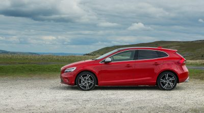 Volvo V40 2016 r-design widescreen wallpaper
