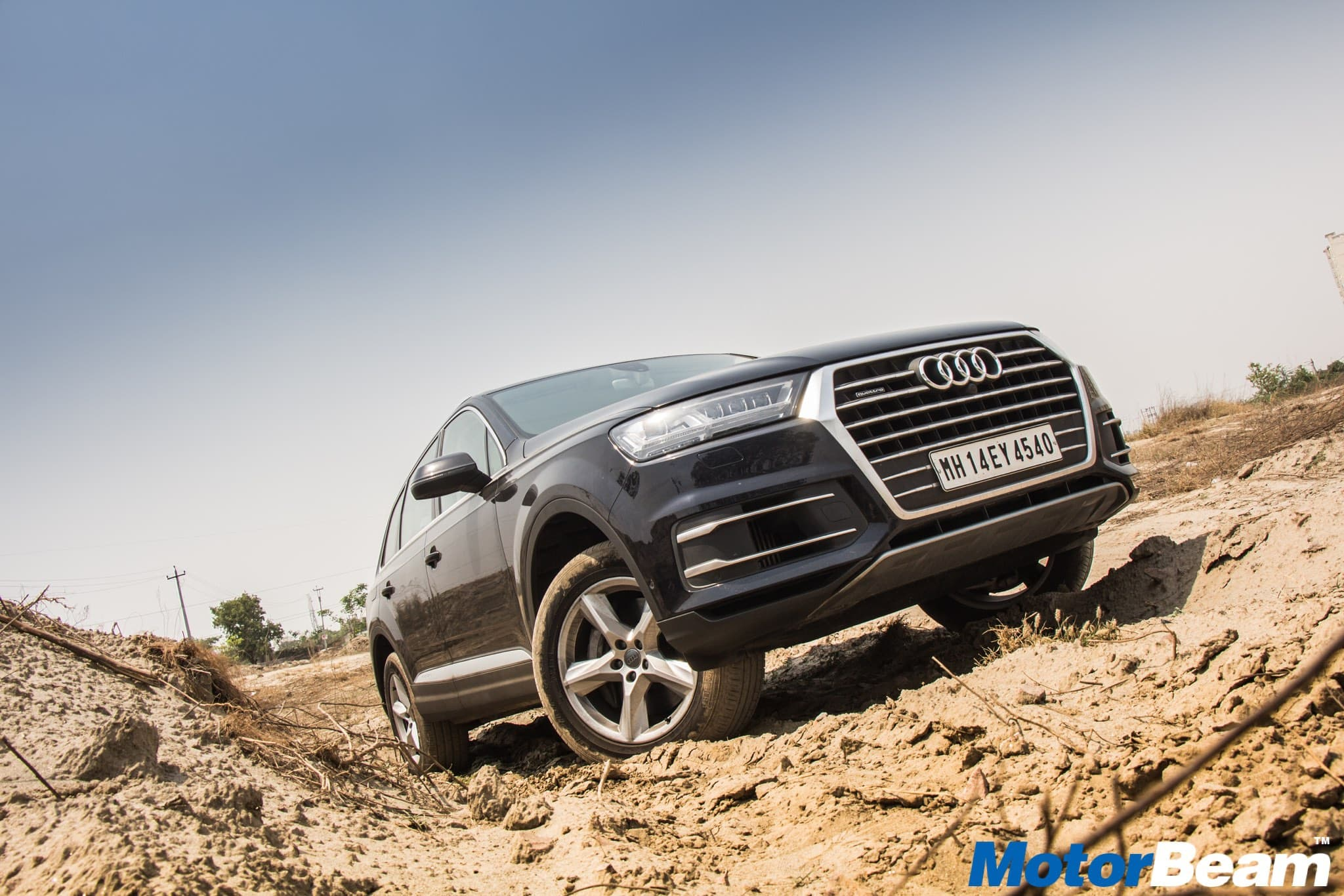 Audi Q7 2016 S Line 4x4 desktop wallpaper widescreen