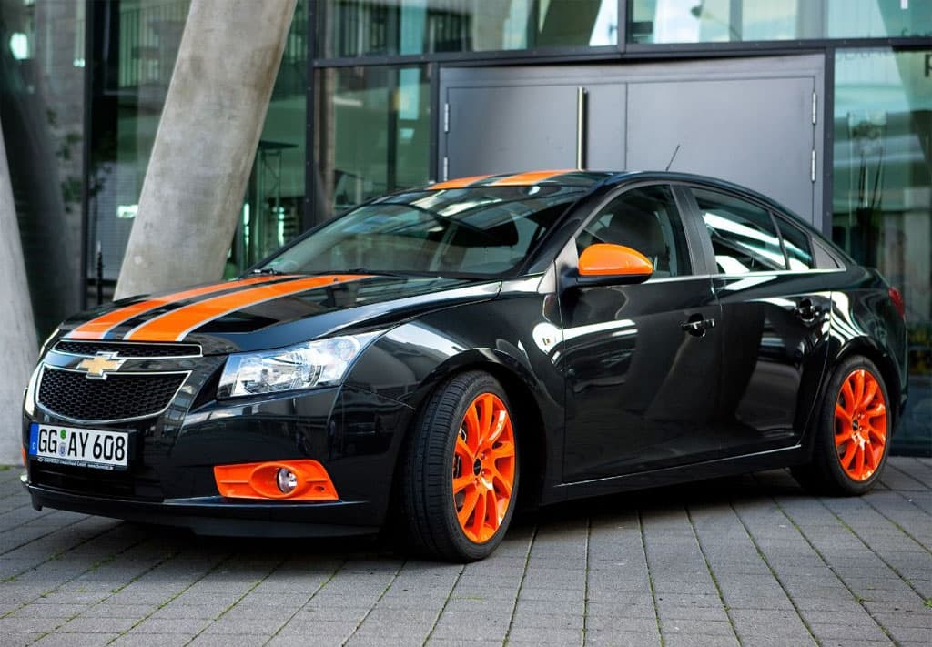 Chevrolet Cruze tuning hatchback 2016