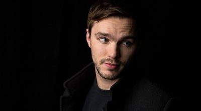 cute Nicholas Hoult widescreen