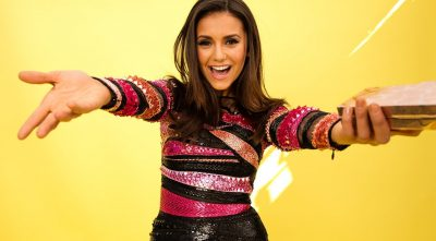 happy Nina Dobrev wallpaper HD 1080p