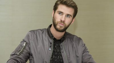 sad Liam Hemsworth computer wallpaper