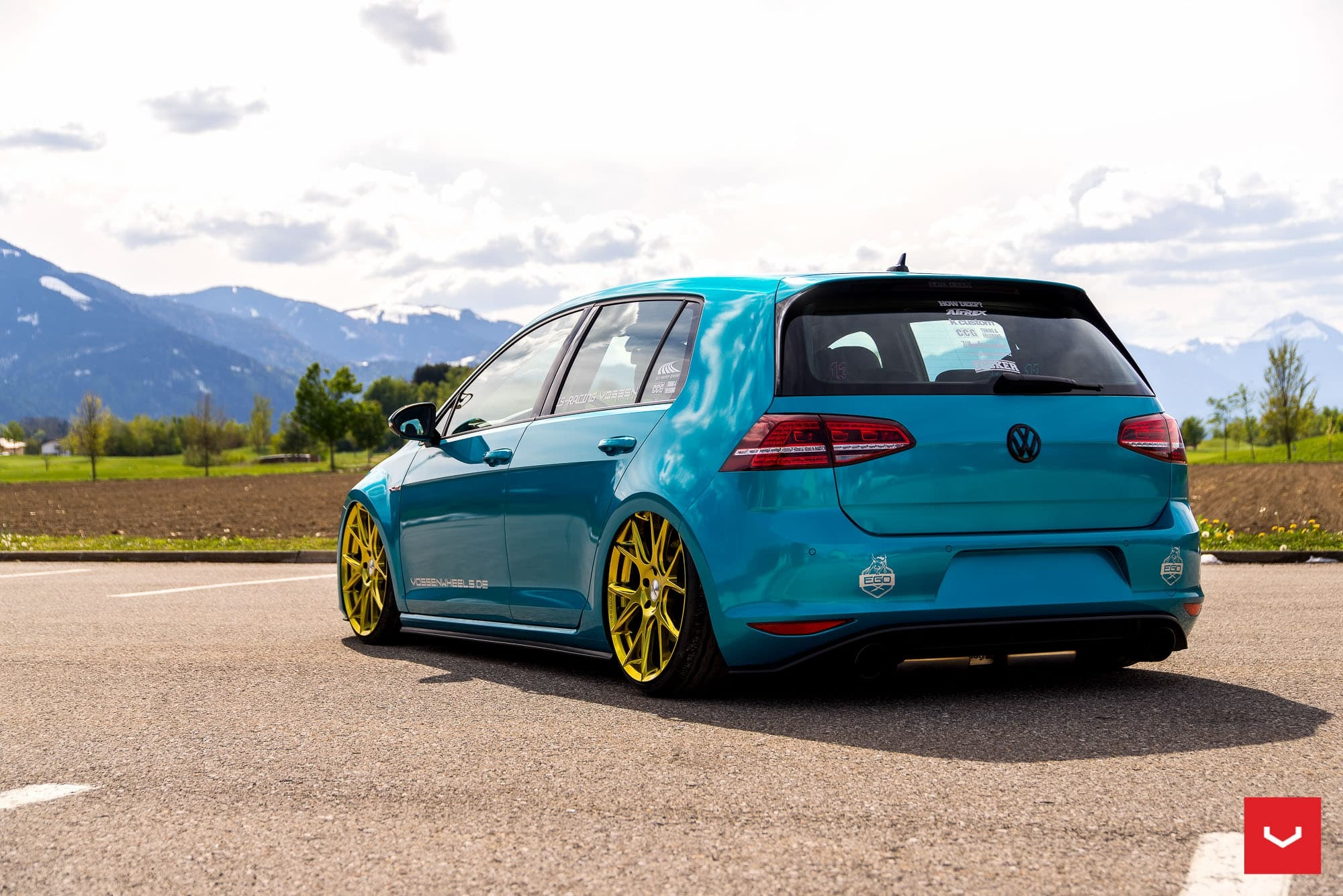 Volkswagen Golf GTI MK7 2016 Wallpapers High Resolution