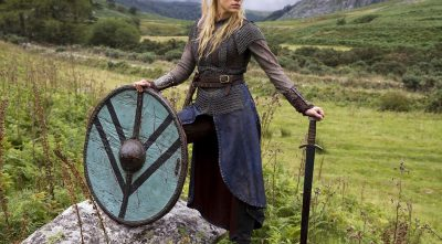 Vikings - Katheryn Winnick As Lagertha - costume