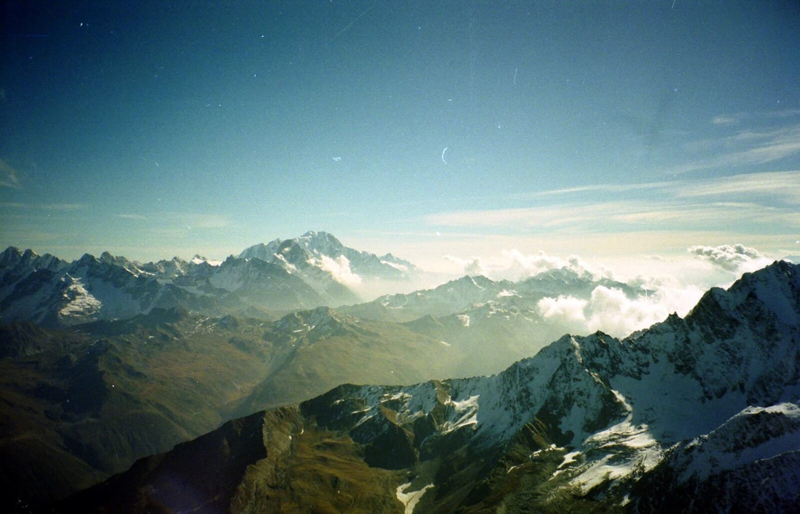 Mountain - Grand Combin wallpaper