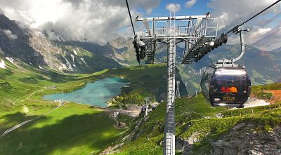 Mountain Titlis cable car