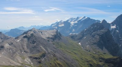 Switzerland, Bernese Alps - Mountain Schilthorn, piz Gloria