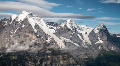 Switzerland, Bernese Alps - Mountain Schilthorn, James Bond