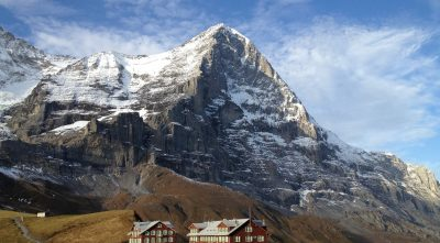 house, mountain Eiger