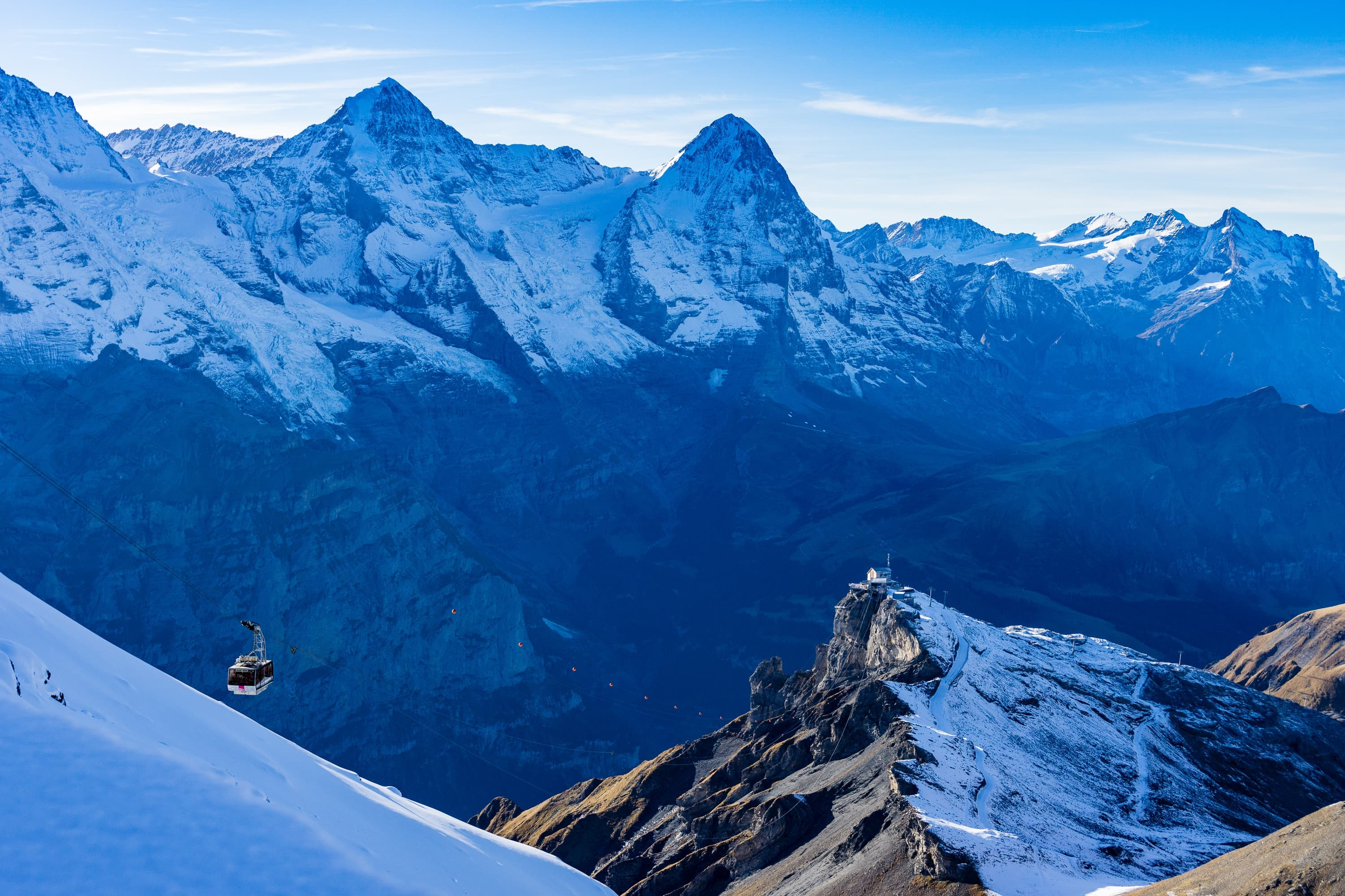 Switzerland, Bernese Alps - Mountain Schilthorn High Quality wallpapers