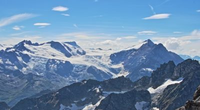 Mountain Titlis in winter