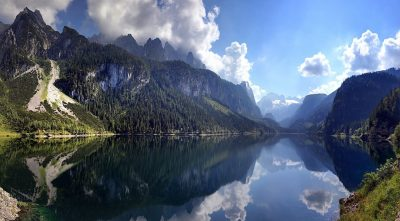 Austria, Alps, - Mountain Dachstein, lake