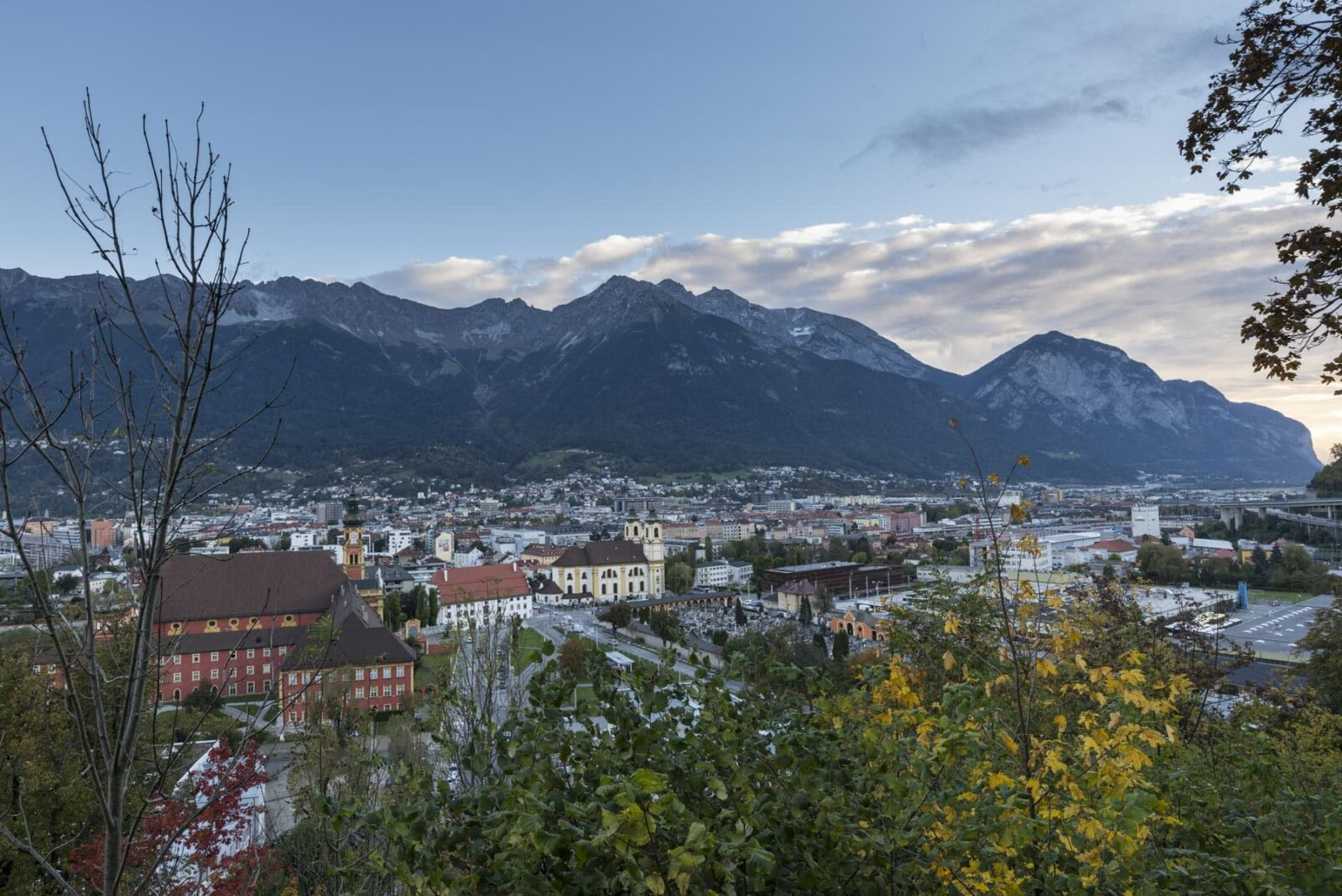 Germany - Mountain Zugspitze near the town
