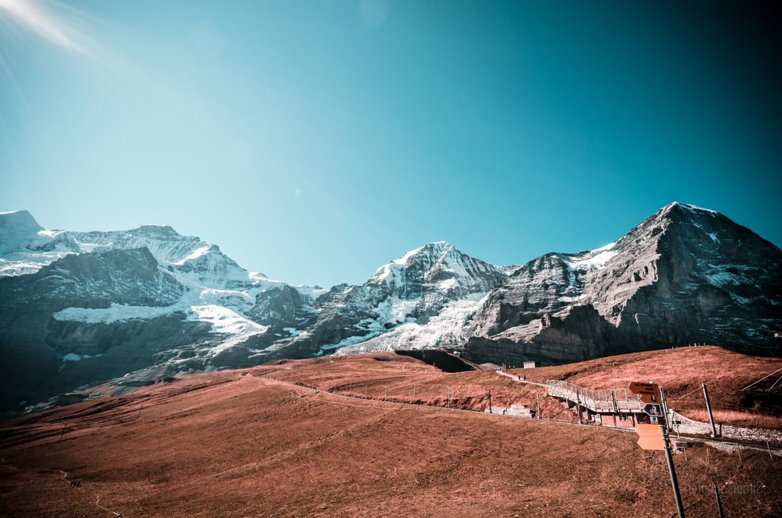 landscape, - mountain Eiger