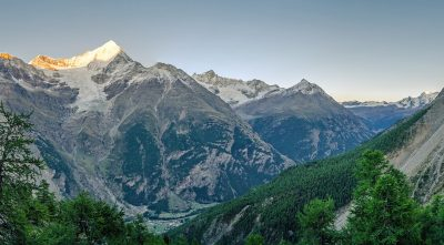 Switzerland, - mountain Weisshorn landscape