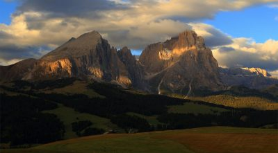 mountain Schlern - Alps, Italy, rocks