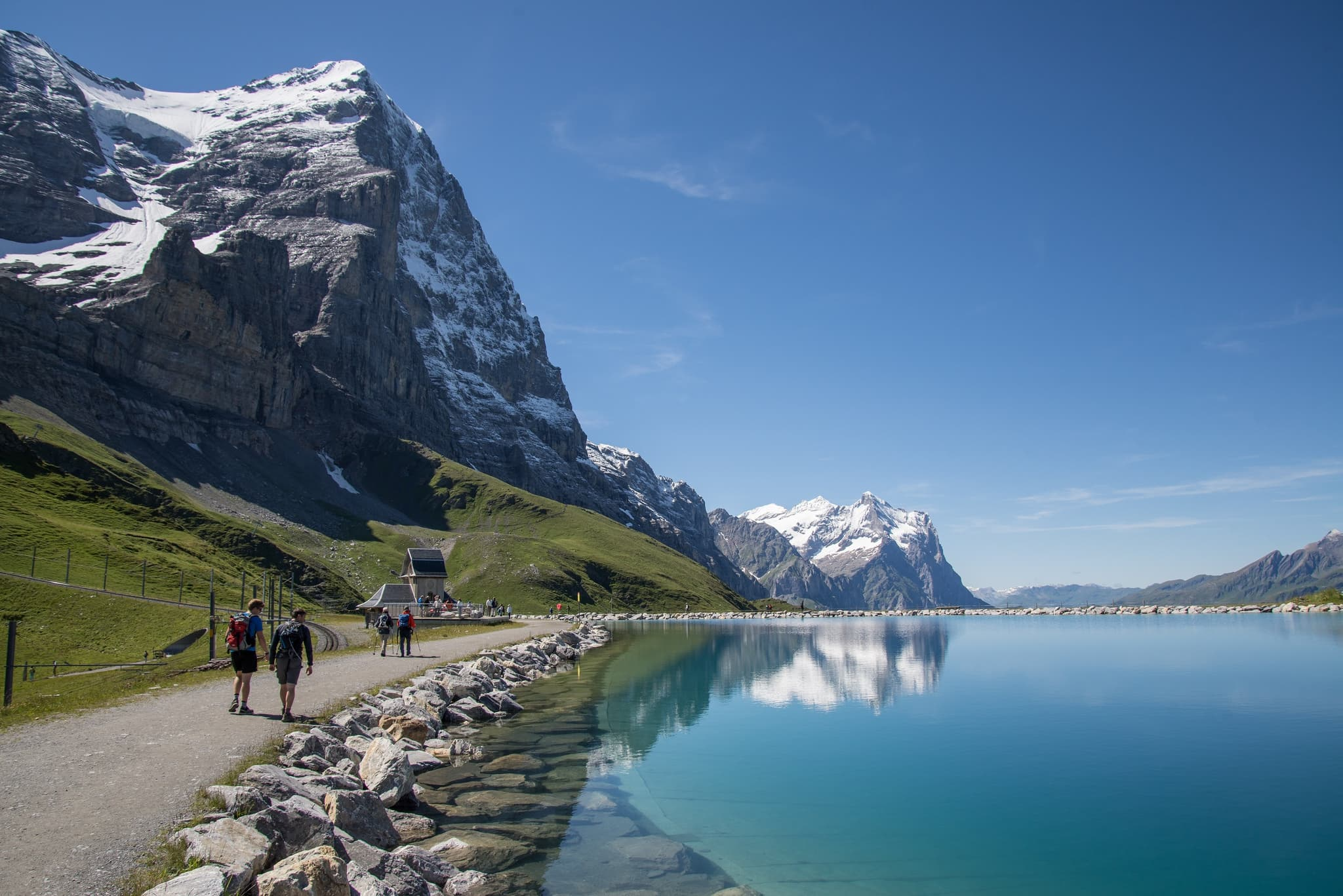 nature, mountain Eiger
