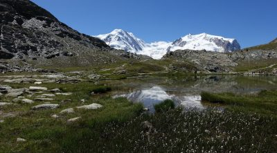 massif - Monte Rosa HD Wallpaper