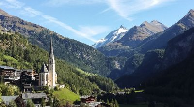 mountain, - Grossglockner, castle