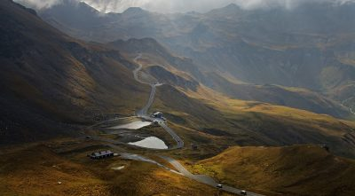 mountain, - Grossglockner high alpine road