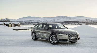 2017 Audi A6 allroad background