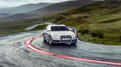2017 Audi A6 allroad widescreen