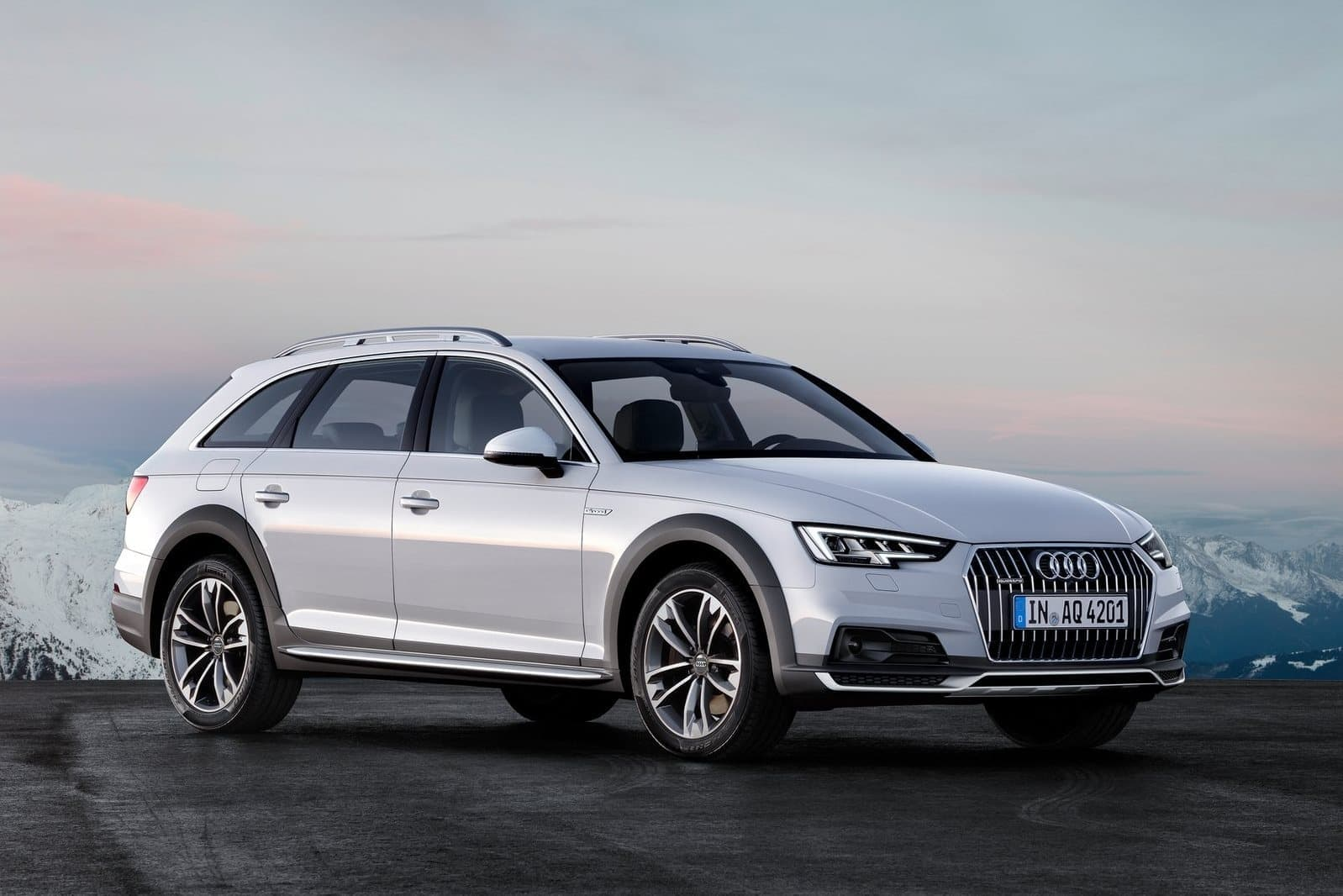 2017 Audi A6 allroad computer wallpaper
