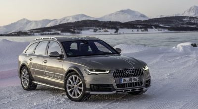 2017 Audi A6 allroad in winter