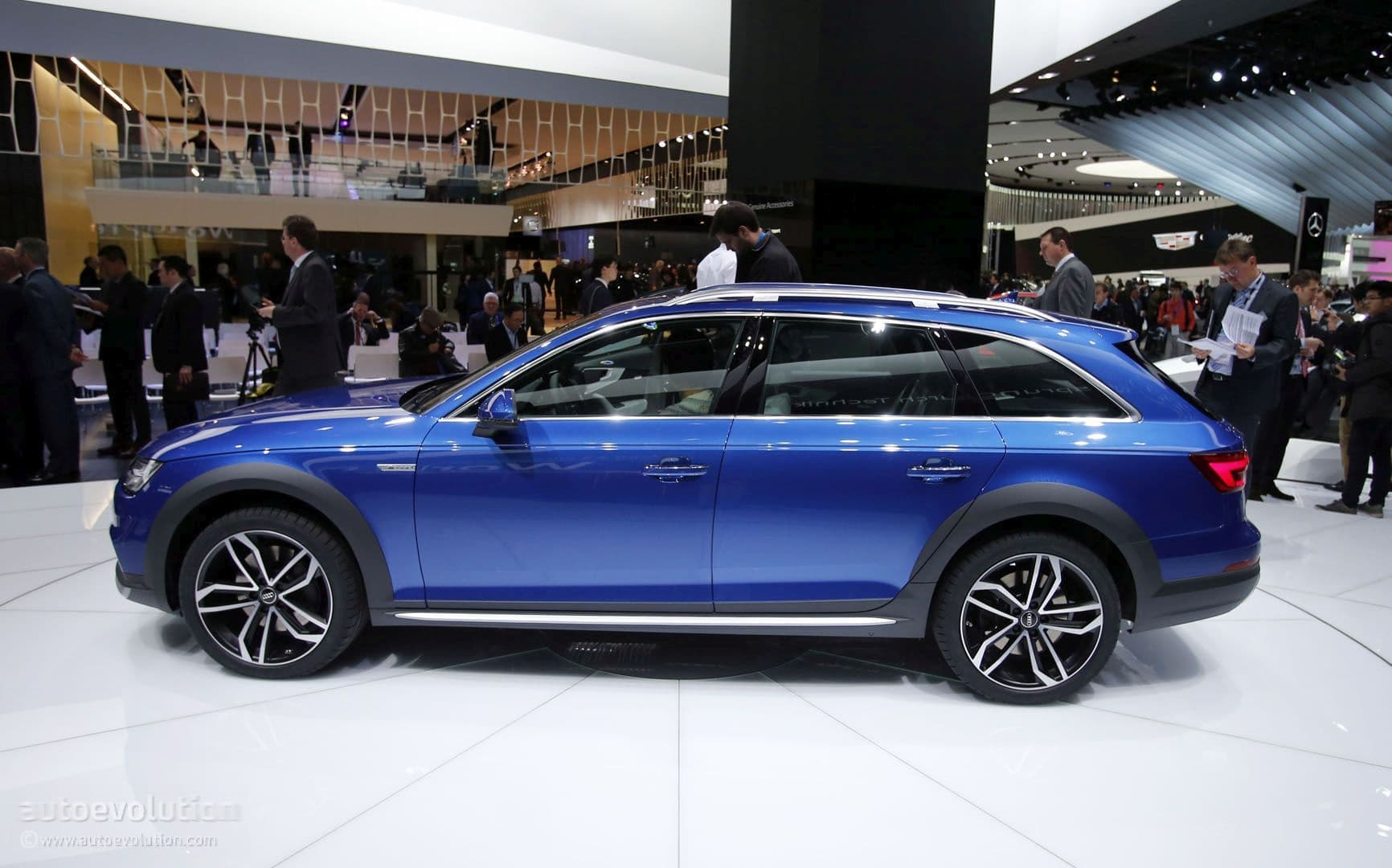 2017 Blue Audi A6 Allroad