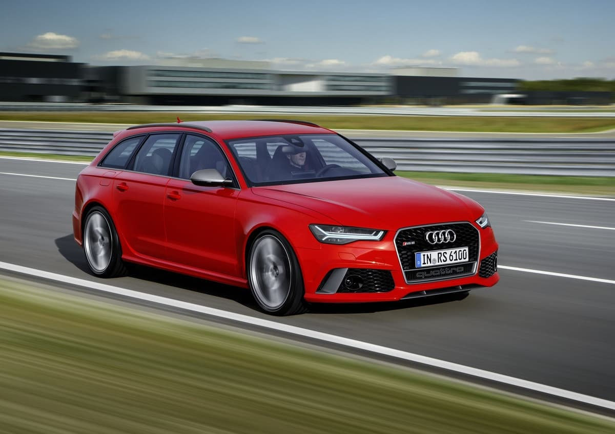 2017 Red Audi A6 Allroad