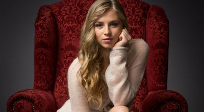 cute Hermione Corfield desktop wallpaper