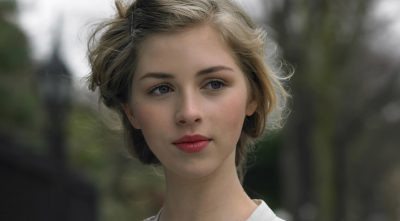 young Hermione Corfield hairstyle