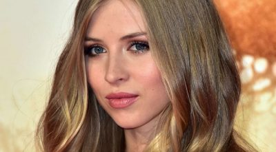 Hermione Corfield makeup