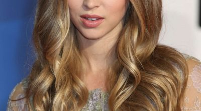 Hermione Corfield long hairstyle