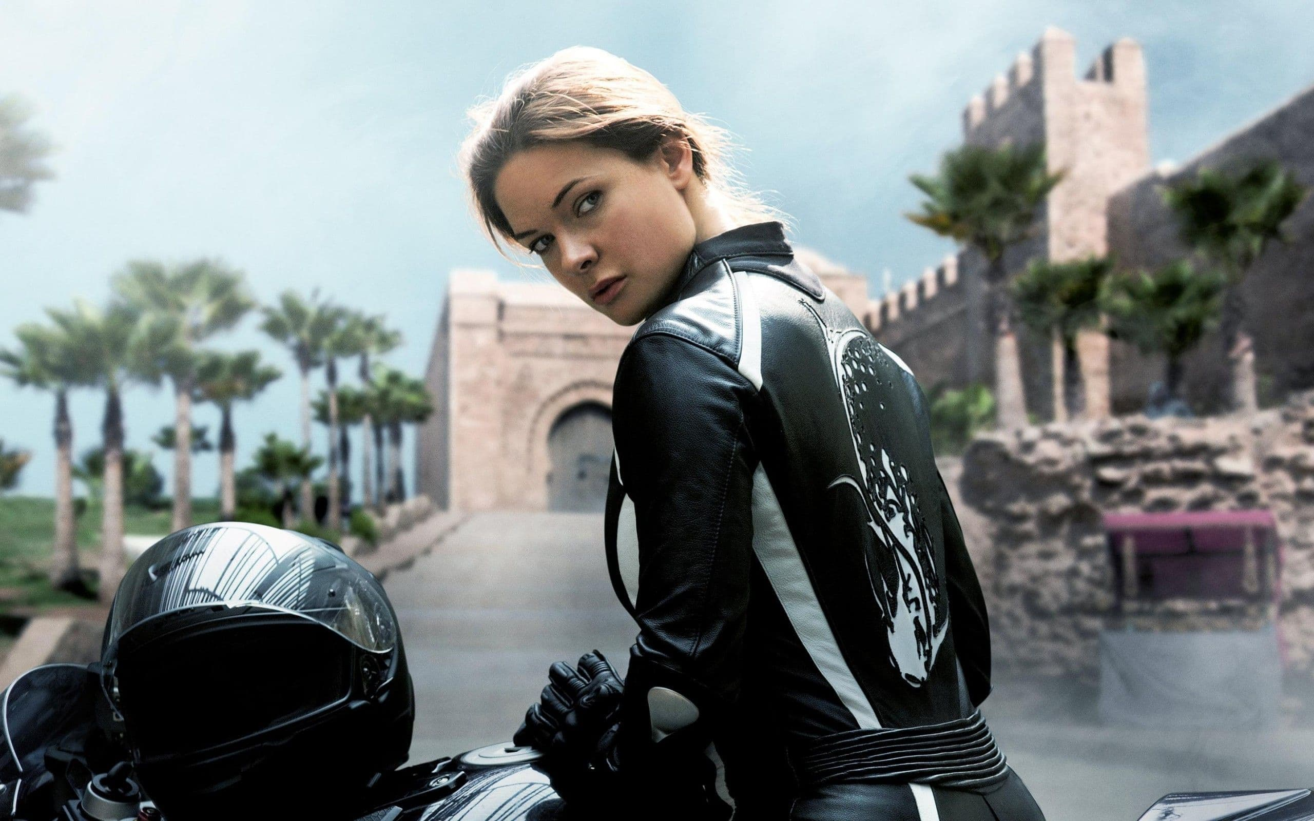 actress Hermione Corfield in mission impossible