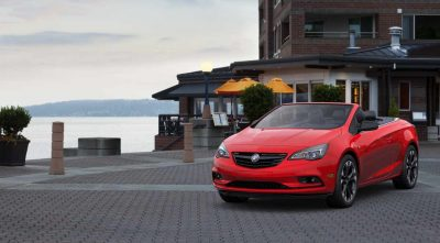 2017 red Buick Cascada Convertible photos
