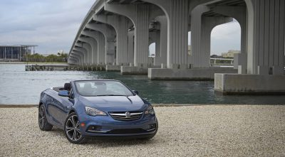 2017 blue Buick Cascada Convertible images