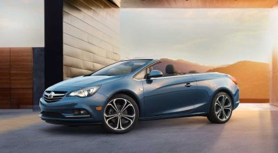 2017 Buick Cascada Convertible side HD wallpaper