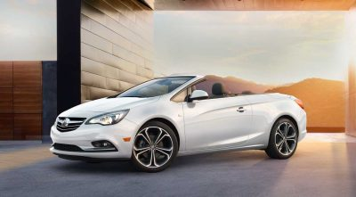 2017 white Buick Cascada Convertible cool computer wallpaper
