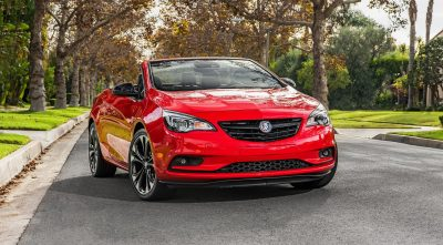 2017 red Buick Cascada Convertible front full HD image