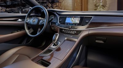 Buick Lacrosse 2017 dashboard interior