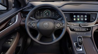 Buick Lacrosse 2017 steering wheel interior