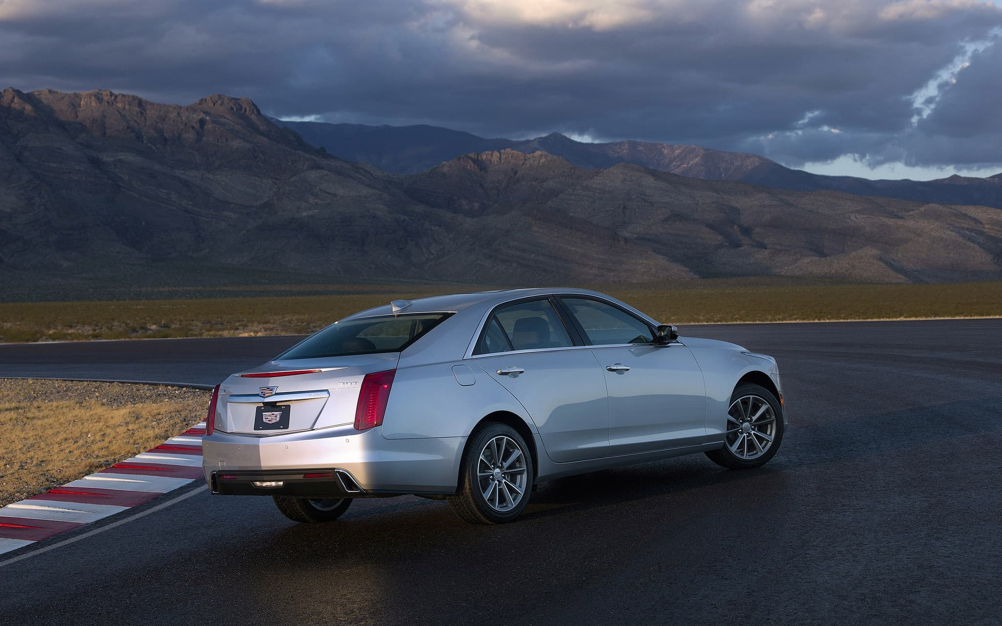 Cadillac CTS 2017 background