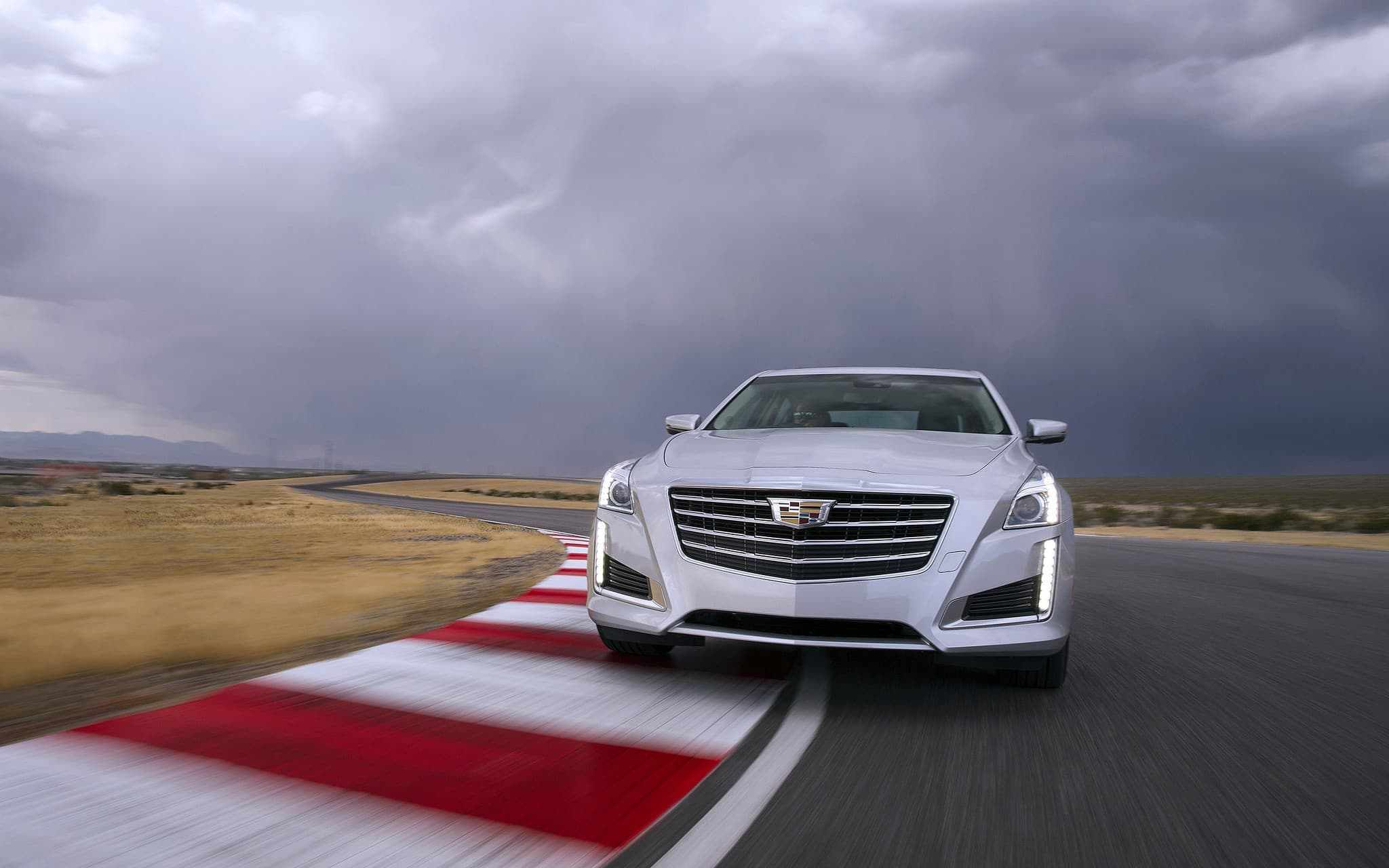 silver Cadillac CTS 2017 high quality