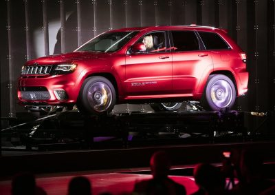 2018 Jeep Grand Cherokee Trackhawk Premiere for desktop